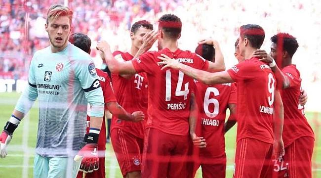 Bayern Münih gol yiyince sinirlendi