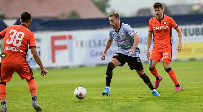 Beşiktaş Udinese'ye 2-0 mağlup