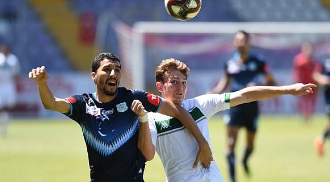 Bursaspor El Jadida'yı tek golle yendi