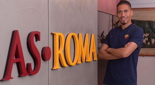 Chris Smalling Roma'ya transfer oldu