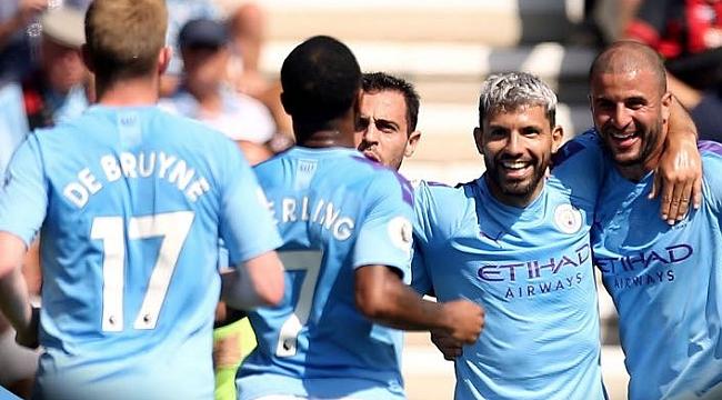 City 3 puanı Agüreo - Sterling ikilisiyle aldı