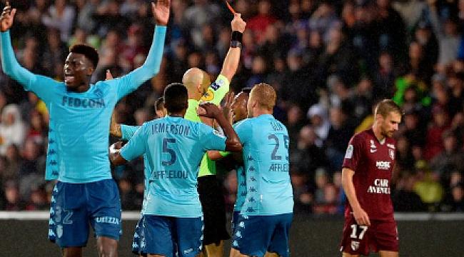 Falcao'suz Monaco şokta, Lille mağlup