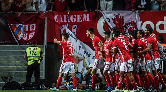 Fejsa'sız Benfica Süper Kupa'da gol yağdırdı
