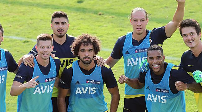 Fenerbahçe Gazişehir maçına hazırlanıyor