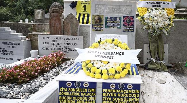 Fenerbahçe'nin ilk Başkanı Ziya Songülen anıldı