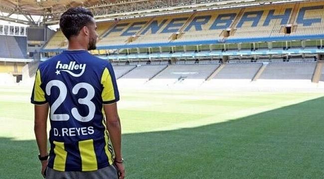 Fenerbahçe Reyes'in sözleşmesini karşılıklı olarak fesh etti