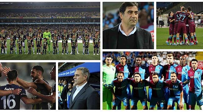 Fenerbahçe Trabzonspor 'u konuk ediyor