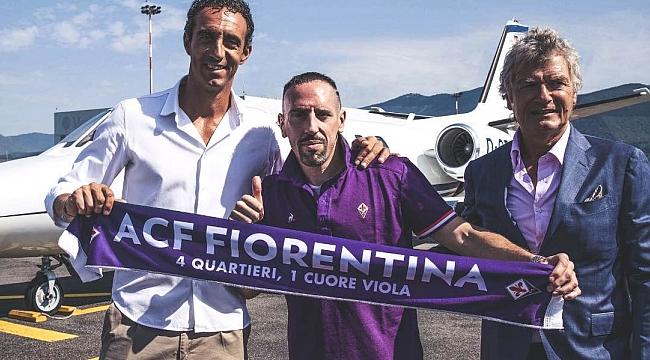 Frank Ribery Fiorentina'da