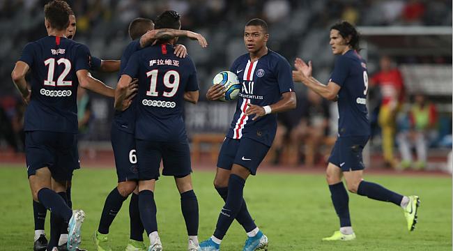 Fransa Süper Kupası Paris SG'nin