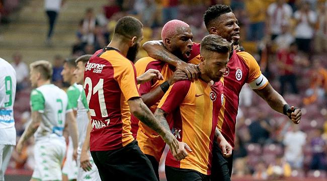 Galatasaray Panathinaikos'u Adem ve Donk'la geçti