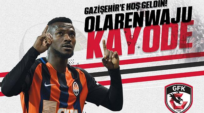 Gazişehir Kayode'yi transfer etti