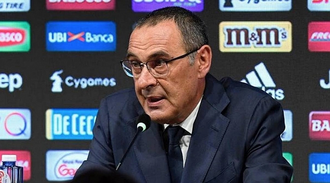 Juventus'ta Sarri zatürre oldu