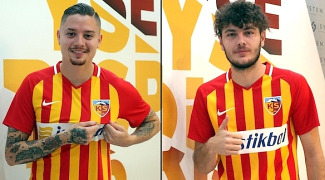 Kayserispor'da iki transfer birden