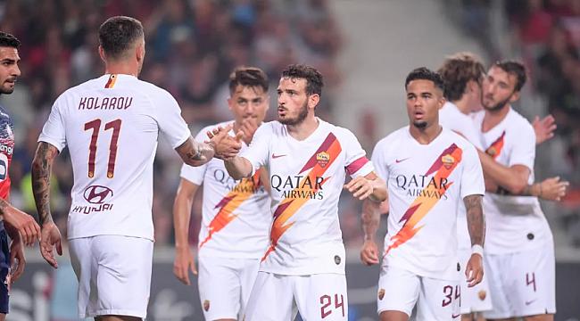Kolarov ve Cengiz oynadı Roma kazandı