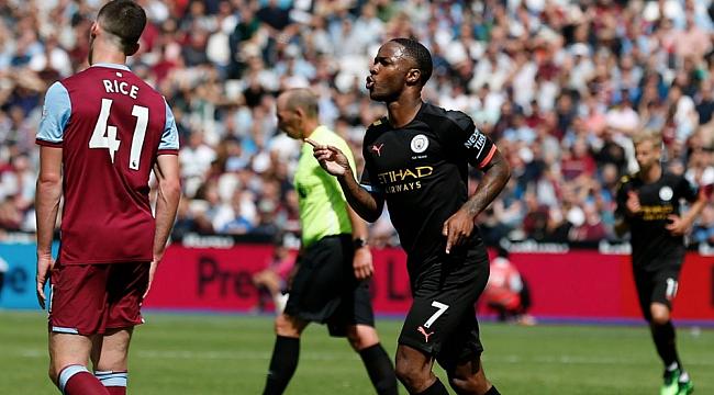 Manchester City West Ham'ı sürklase etti