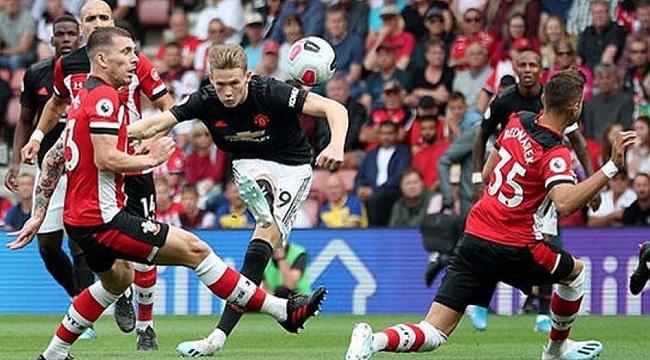 Manchester United Southampton'a da takıldı