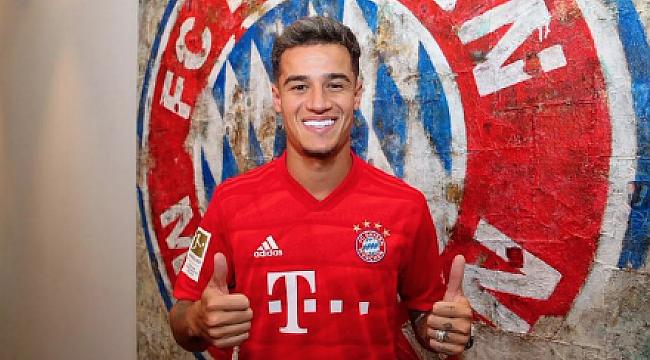 Philipe Coutinho Bayern Münih'te