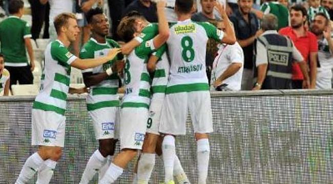 TFF 1. Lig'de haftanın maçı Bursaspor'un