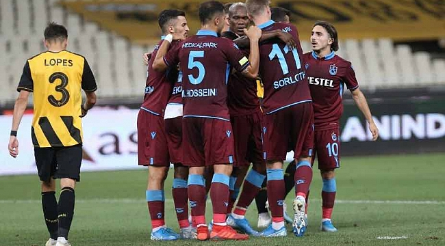 Trabzonspor - AEK maçı şifresiz yayınlanıyor