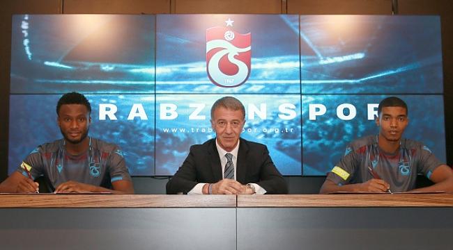 Trabzonspor'da iki imza
