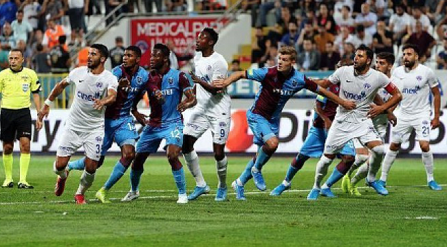 Trabzonspor İstanbul'dan 1 puanla dönüyor