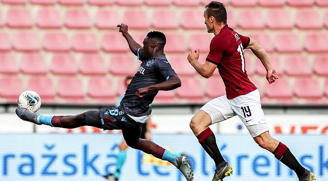 Trabzonspor Sparta Prag karşısında 2-0'dan geri döndü