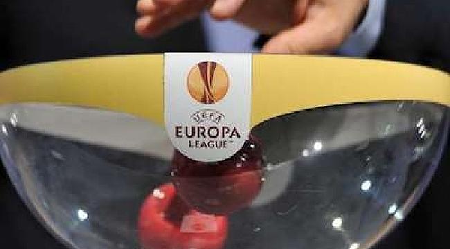 UEFA Avrupa Ligi'ndeki rakiplerimiz belli oluyor