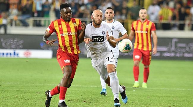 Yeni Malatyaspor'a galibiyet yetmedi