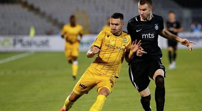Yeni Malatyaspor Partizan'a 3-1 mağlup oldu