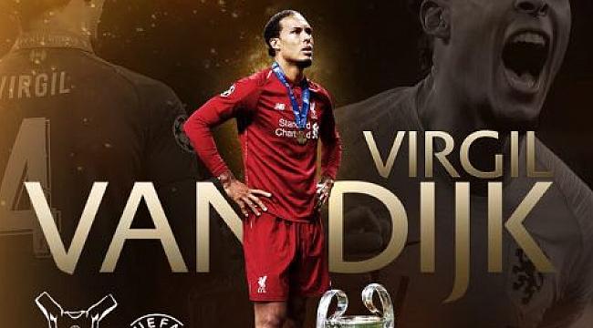 Yılın En İyi Futbolcusu Ödülü Virgil van Dijk'ın