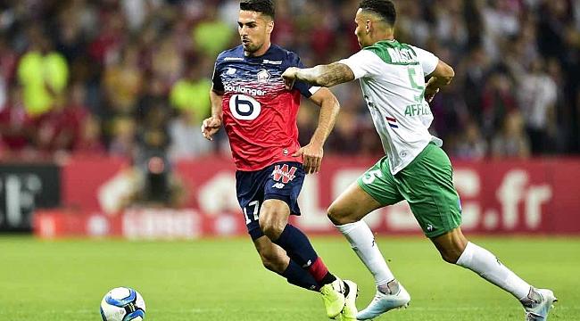 Zeki ve Yusuf'lu Lille St.Etienne'i 3-0'la geçti