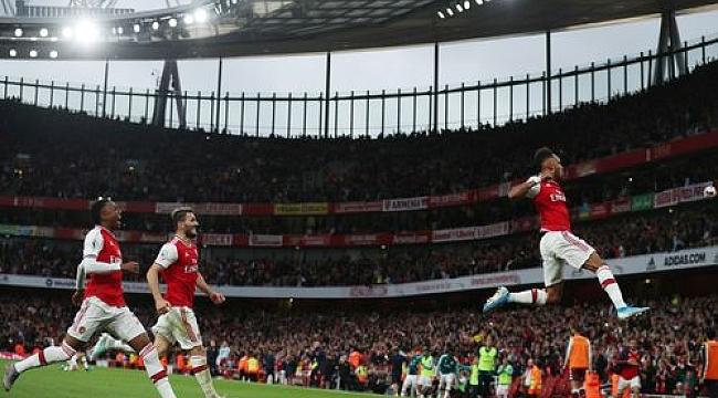 10 kişilik Arsenal pes etmedi, 3 puanı aldı