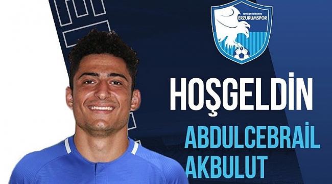 Abdülcebrail Akbulut BB Erzurumspor'da
