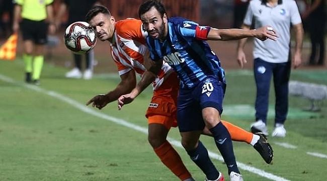 Adana derbisi golsüz bitti
