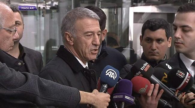 Ahmet Ağaoğlu'ndan istifa iddialarına yanıt