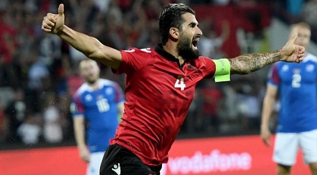 Arnavutluk İzlanda'yı şoka soktu