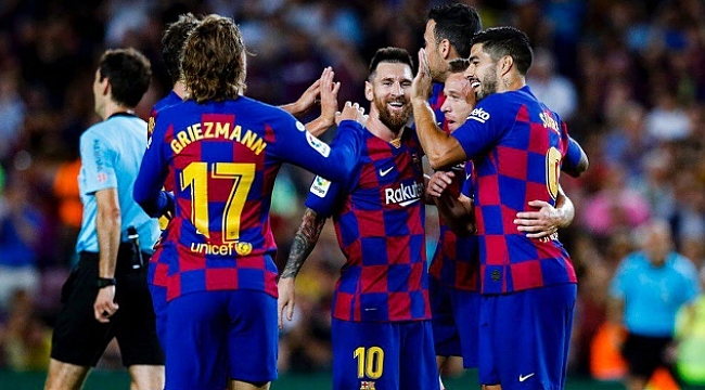 Barcelona Villareal engelini aştı