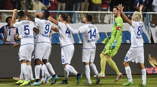 BB Erzurumspor Adanaspor'u yabancılarıyla geçti
