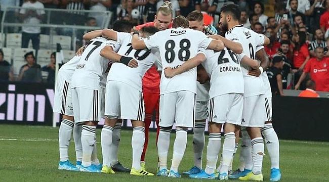 Beşiktaş'ın Trabzonspor maç kadrosu açıklandı