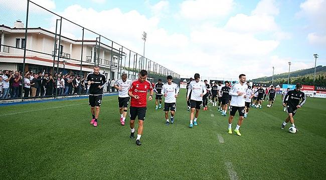 Beşiktaş Trabzonspor maçı hazırlıklarını sürdürdü