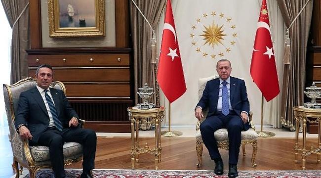 Cumhurbaşkanı Erdoğan Ali Koç'u kabul etti