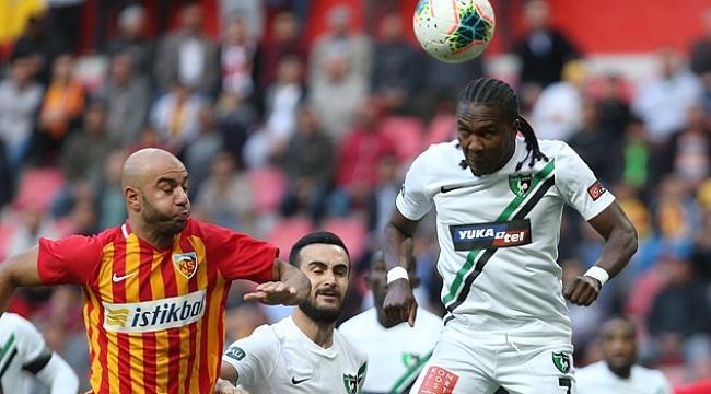 Denizli Kayseri'den puan çıkarttı: 1-1