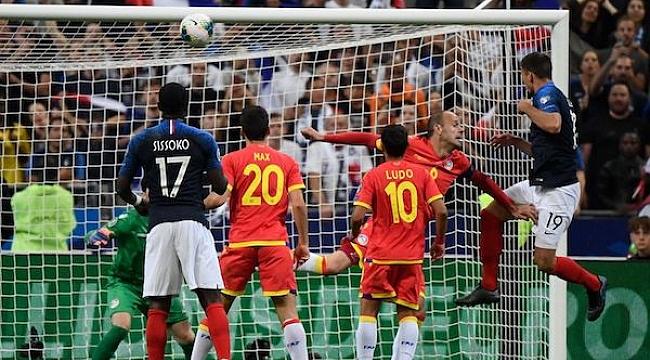 Fransa Andorra karşısında zorlanmadı: 3-0