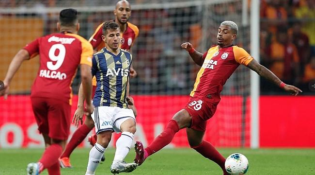 Galatasaray - Fenerbahçe derbisi sessiz bitti