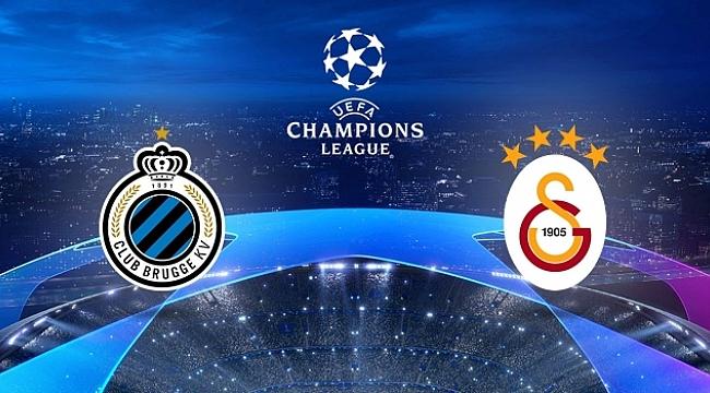 Galatasaray Şampiyonlar Ligi'ne Club Brügge maçıyla başlıyor