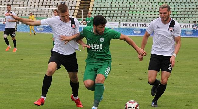 Giresunspor ve F.Karagümrük bir golle birer puan aldı