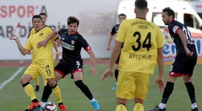 İstanbulspor Boluspor'u 2-1'le geçti