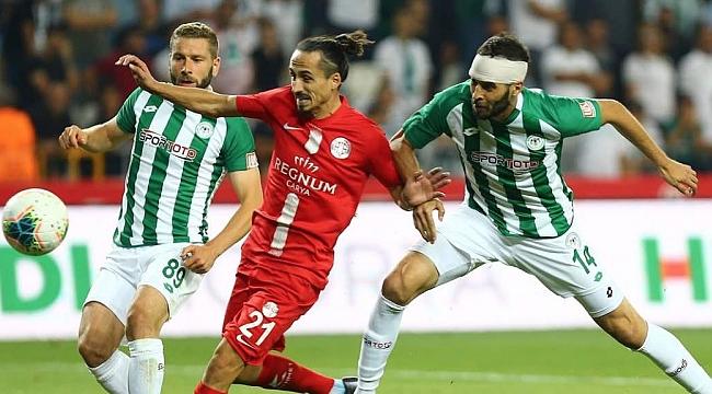 Konya'da 4 gol var kazanan yok