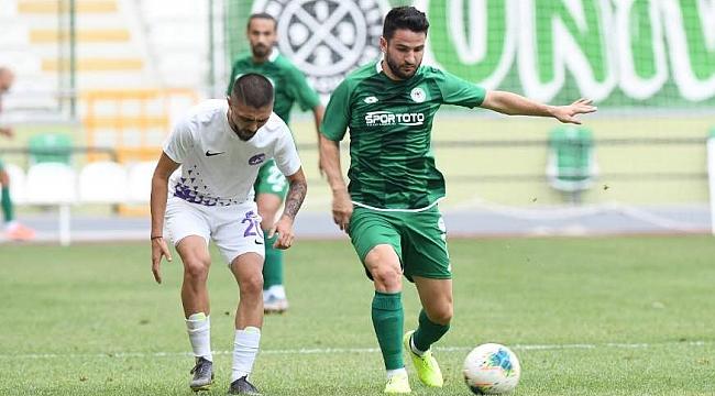 Konyaspor'dan farklı prova