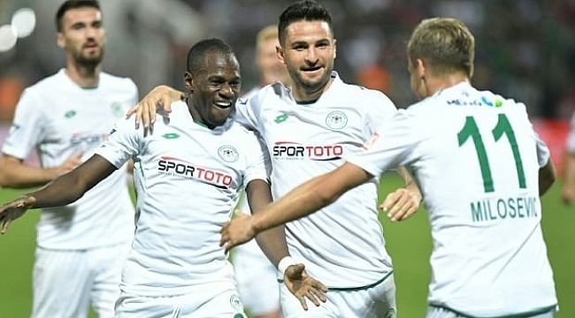 Konyaspor Denizli'den 3 puan çıkardı